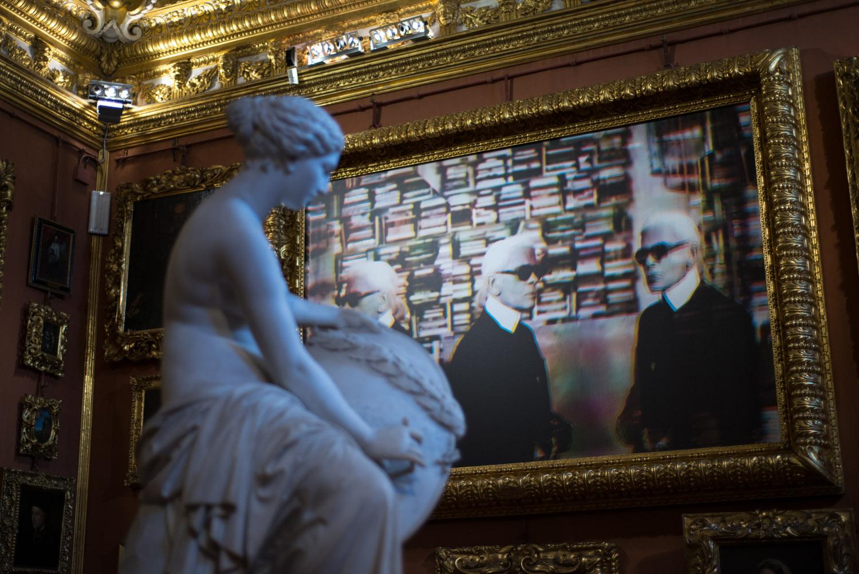 Flair Italia – Karl Lagerfeld @ Palazzo Pitti