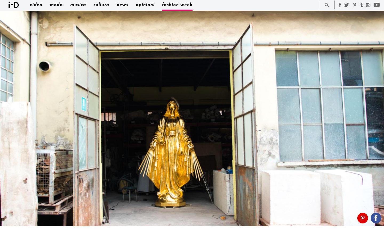 i-D Italy – Inside Fonderia Artistica Battaglia
